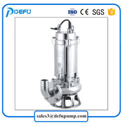 Stainless Steel Submersible Type Slurry Grinder Pump