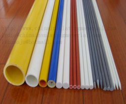 Fiberglass Products FRP Round Tube Filament Winding Tube Insulation Material
