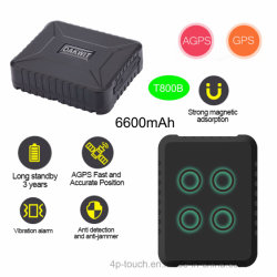 Strong Magnetic Vehicle GPS Tracking Device with Google Map T800b