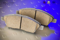Low Noise High Performance and Temperature Brake Pads (D340) for Audia6/A4 / Red Flag Mingshi/Passatb5/Polo/Golf