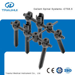 Spine Pedicle Screw Rod Fixation
