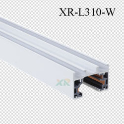 White/Black/Grey Color Aluminum Rail Track Bar for LED Track Light