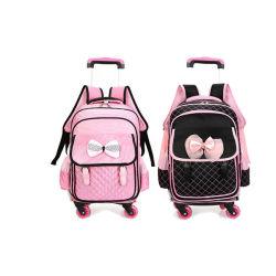 Nice Kids Cartoon Trolley Bag School Backpack for Girl Sh-15122195