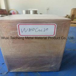 Cuw65 Cuw70 W80 W80cu20 Tungsten Copper Factory