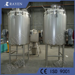 SUS316L Stainless Steel Food Agitator Slurry Tank Milk Mixing Tank