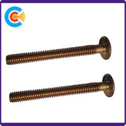 Brass Screw M8X75 Pan Head Slot Screw