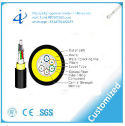 Outdoor G652D ADSS Fiber Optic Cable with Competitive Price Per Meter