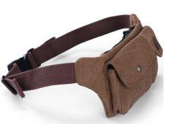 Retro Fashion Mens Sport Running Fanny Pack Waist Belt Bag