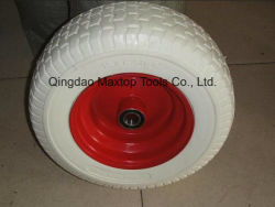 650-8 Maxtop Rubber Flat Free PU Foam Trolley Wheel