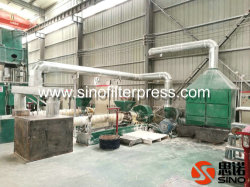 High Pressure Chamber Filter Press Plant for Sluge/Slurry Treatment