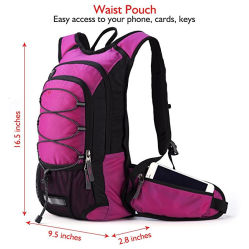 Hydration Backpack Water Bladder Bag Cycling Sports Bag