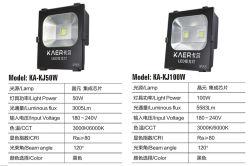 Outdoor Lighting Aluminumled Flood Light LED Lighting 100W IP65
