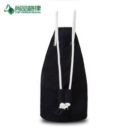 High Quality Black Large Capacity Basketball Bag Drawstring Backpack Bag