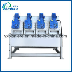 EU Standard Thickener Screw Press Machinery for Oil Slurry Sludge