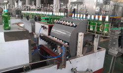 Automatic 2000bph Recycled Glass Bottle Washing Machine