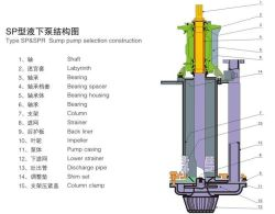 Lsp and Lspr Vertical Submersible Sump Slurry Pump in Mining Industry