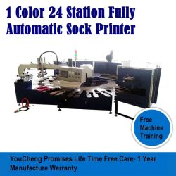 Ankle Sock Screen Printing Machine for Silicone PVC Antislip