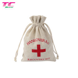 Packing Cotton Canvas Wine Bottle Boat Bag for Increasing Value
