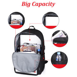 Anti Theft Solar Bag Solar Power Backpack with Charger