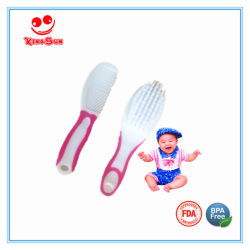 Best Soft Bristle Baby Hair Brush Set Including Comb