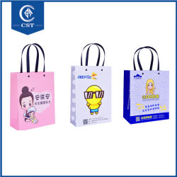 Promotion Shopping Bag Kraft Paper Carrier Bags Jewelry Bag