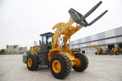 Pilot Control Air Conditioner Heavy Wheel Loader Grass Fork Log Clamp