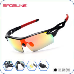 Tr 90 Outdoor Sport UV400 Protection Cycling Sunglasses