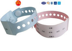 RFID Waterproof Silicone Wristband for Water Park