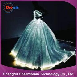 RGB Color LED Lighting Fiber Optic Wedding Dress