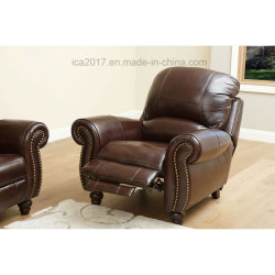 Top-Grain Leather Loveseat Sofa and Arm⪞ Hair Set