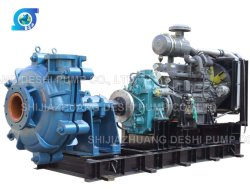 High Efficiency Centrifugal Sand Suction Diesel Engine Slurry Pump