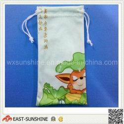 Clip Microfiber Sunglasses Bag/Pocket (DH-MC0284)