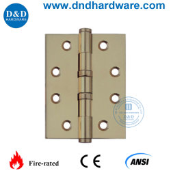 Modern Solid Brass Hinge For Wooden Door