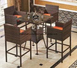 Garden Plastic Outdoor Furniture Pe Rattan Promotion Price Uv Resistant