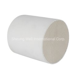 100-900cells Honeycomb Ceramic Substrate for Catalytic Converter