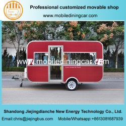 Traving Caravan/Food Trailer with The Competitive Price for Sale