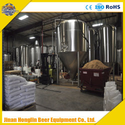 1000L Three Vessels Mash Tun Equipment, Beer Making Machine