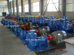 Ah Horizontal Slurry Pump for Coal Mine ISO9001 Certified
