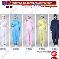 Medical Anti-Static Washable Protective Shoe Cover Protective Unforms Working Clothes Unisex Workwear (C5225)
