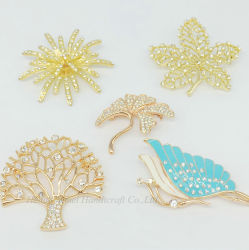 f04d3d69fbb Wholesale Women Costume Alloy Brooch Jewelry Fashion Butterfly and Plant  Brooches