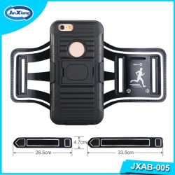 Black Color Mobile Phone Accessory Jogging Sports Running Armband Case for iPhone 6