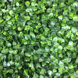 Natural Looking Artificial Foliage Plant Leaves Panel Vertical Garden Green Wall Synthetic Grass Turf for Wedding Shop Office Store Hotel Home Landscape Decor