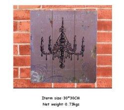 Hot Sell Custom Retro Wooden Plaque Wooden Printed Arts