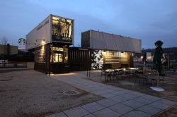 Factory Direct High Quality Shipping Container House Modification Shop Store