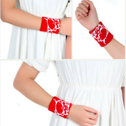 Custom Made Cotton Sports Wristband Support Manufacturer