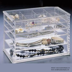 Clear Acrylic Jewelry Display Shelves for Sale