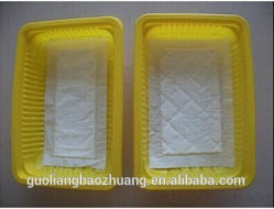 PP/PS Disposable Supermarket Packaging Tray for Fresh Meat, Fruit, Vegetable Factory Wholesale Price
