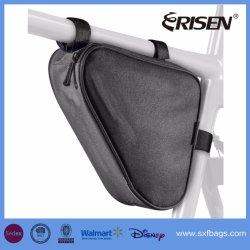 Sport Bicycle Bike Storage Bag Triangle Saddle Frame Strap