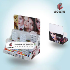 Hot Selling Custom Cardboard Stand Displayy Pop Counter Display Cosmetic Point of Sale Display