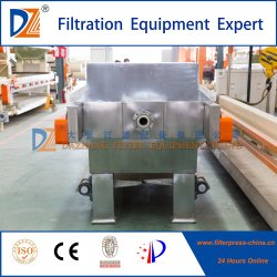 2017 Automatic Recessed Filter Press with S. S. 304 Coating for Beer Industry